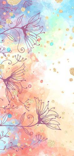 Handy Wallpapers HD Aquarell Gold – von BonTon TV – Kostenlose Hintergrundbilder… Mobile Wallpapers HD Watercolor Gold – by BonTon. Galaxy Phone Wallpaper, New Wallpaper Iphone, Flower Phone Wallpaper, Cute Wallpaper Backgrounds, Pretty Wallpapers, Colorful Wallpaper, Cellphone Wallpaper, Cool Wallpaper, Mobile Wallpaper