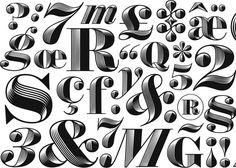 Comment se crée une police de caractères: petite explication illustrée avec Obsidian | Slate.fr