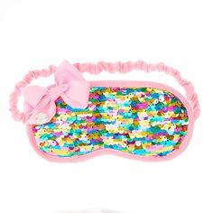 JoJo Siwa Rainbow Sequin Sleeping Mask
