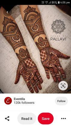 Mehndi Design Images, Mehndi Art Designs, Henna Tattoo Designs, Bridal Outfits, Mehendi, Hand Henna, Hand Tattoos, Men, Beautiful
