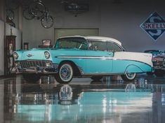 Thousands of classic cars for sale: buy, sell and browse classic car adverts from the world's best-selling classic car magazine. Chevrolet Impala, Chevrolet Camaro, Classic Sports Cars, Classic Cars, Classic Car Magazine, 1956 Chevy Bel Air, Chevrolet Bel Air, Fort Lauderdale, Wheels