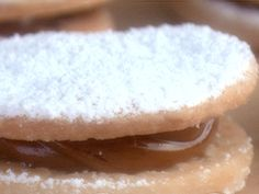 Dulce de Leche Cookie Sandwiches (Alfajor) from FoodNetwork.com