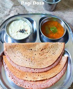 Ragi dosa #diabetic breakfast