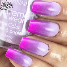 Sally Hansen Lacey Lilac, Violet Voltage and Funky Fingers BPM
