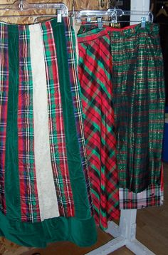 some elegant long Christmas skirts Christmas Skirt, Office Christmas Party, Christmas Costumes, Plaid Scarf, Elegant, Skirts, Collection, Fashion, Dapper Gentleman