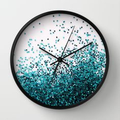 Swim Wall Clock by Galaxy Eyes - Black - Black Wall Clock Wooden, Led Wall Clock, Clock Art, Diy Clock, Wood Clocks, Clock Decor, Clock Ideas, Red Bedroom Decor, Craft Ideas