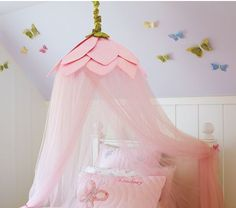 Frugal Crafty Mom: DIY bed canopy for children's bedroom – under $20