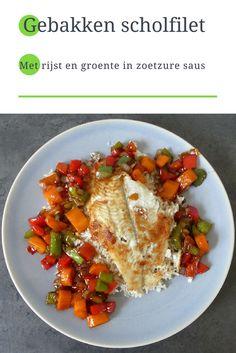 Recept | Scholfilet met zoetzure saus
