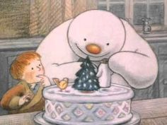 "The Snowman, Full Version [HD] (David Bowie intro) A great British animated Cartoon/Film from based on the award winning children's novel ""The Snowman"" by Raymond Briggs Featuring David Bowie Intro th Christmas Books, Christmas Music, Christmas Time, Christmas Videos, Christmas Snowman, Winter Art, Winter Theme, Winter Activities, Christmas Activities"
