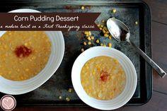 First Thanksgiving Corn Pudding Recipe