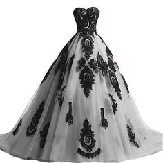 online shopping for Kivary Long Ball Gown Black Lace Gothic Corset Formal Prom Evening Dresses from top store. See new offer for Kivary Long Ball Gown Black Lace Gothic Corset Formal Prom Evening Dresses Homecoming Dresses Long, Long Prom Gowns, A Line Prom Dresses, Black Wedding Dresses, Women's Dresses, Formal Prom, Wedding Gowns, Party Dresses, Dress Prom