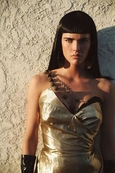 Photos: Troy Jensen Sylvia Geersen being Cleopatra in a photoshoot by Troy Jens. Vampires, Egyptian Goddess Costume, Egyptian Hairstyles, Egyptian Women, Egyptian Beauty, Queen Cleopatra, Fashion Themes, Hair Shows, International Fashion