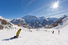 Orcières - Hautes-Alpes - France - Domaine skiable Orcières 1850 - © Bertrand Bodin