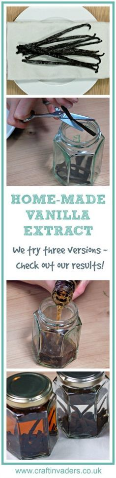 We test making vanilla extract using 3 different alcohol bases - find out which…