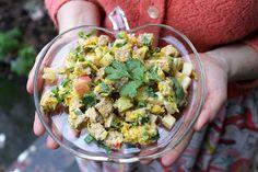 Recipe! Tempeh-Kraut Salad | Cake Maker to the Stars--Vegan and Gluten-Free