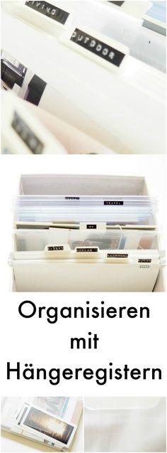 Register und Hängeregister sind DAS Organisationstalent für das Büro!