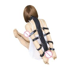 16.49$  Buy here - http://ali79i.shopchina.info/go.php?t=32731403256 - PU Leather Black Neck Collar Arm Bondage Restraint Handcuffs Fetish Slave bdsm Toys Adult Games Sex Toys for Couples Sex Shop  #SHOPPING