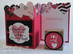 Stampin' Up!® Tiny Treat Boxes