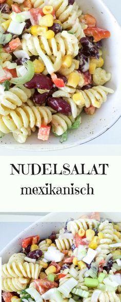Mexikanischer Nudelsalat - ein wunderbares Sommerrezept