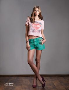 T-Shirt: Palma Shorts: Moira Discover Women's Collection http://www.staff-jeans.com/staff/look-book-women/