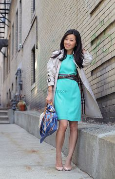 Extra Petite--I'm not extra petite but I love her style. :)     ATteal3 by PetiteAsianGirl, via Flickr