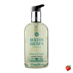 Molton Brown Mulberry & Thyme Hand Wash 300ml/10oz #Skincare #MoltonBrown #NaturalIngredients #NaturalBeauty #Beauty #HotPick #FREEShipping #StrawberryNET