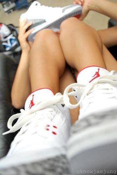 Air Jordan III All Jordans, Jordans Girls, Jordans Sneakers, Jordan Swag, Jordan Shoes, Nike Free Shoes, Running Shoes Nike, Air Jordan Iii, Jordan 23