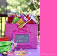 40th Birthday Party Ideas | Living Locurto - Free Party Printables, Crafts & Recipes