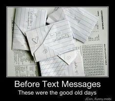 remember Passing Notes