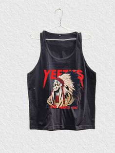YEEZUS SHIRT TANK TOP KANYE WEST TSHIRT TOUR CONCERT CLOTHING YEEZY TAUGHT YZ03 #Unbranded #TankTop