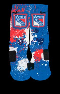 New York Rangers Inspired Custom Nike Elite by ChampionshipElites, $34.99