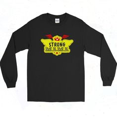 Strong Mama Wings Vintage 90s Long Sleeve Shirt Short Models, 90s Outfit, Out Of Style, Going Out, Long Sleeve Shirts, Graphic Tees, Wings, Short Sleeves, Strong