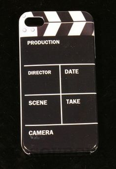 Clapperboard iPhone 4S Case