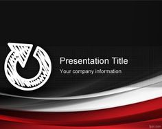 Free Continuous Improvement PowerPoint Template for industrial presentations or quality management