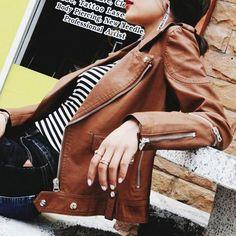 Bad Girl Zip-Zip Jacket | Universe Woman Jacket Brands, Shoe Size Chart, Size Clothing, Universe, Leather Jacket, Coats, Zip, Woman