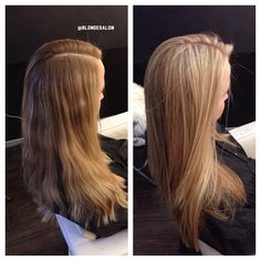 Love all the long hair blondies! #gorgeous #beforeandafter #blonde #blondie #blondehair #blondesalon #blondtourage #comeinwereblonde #monday #losangeles #blondecolorspecialist #beverlyhillshair
