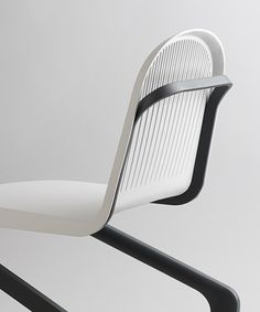 Industrial designer Frederic Julian Rätsch and specialist for performance materials DuPont™️ reveal the double cantilever chair, as part of the project 'flexible sitting in public spaces' which begun in october Vintage Industrial Furniture, Retro Furniture, Cheap Furniture, Luxury Furniture, Furniture Decor, Furniture Design, Furniture Stores, Steel Furniture, Primitive Furniture