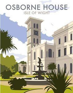 Osborne House, IOW Art Print