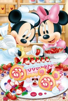 Walt Disney Mickey Mouse and Minnie Mouse Mickey And Minnie Love, Mickey Mouse And Friends, Retro Disney, Disney Fun, Mickey Mouse Wallpaper, Disney Wallpaper, Disney Images, Disney Pictures, Disney Pics
