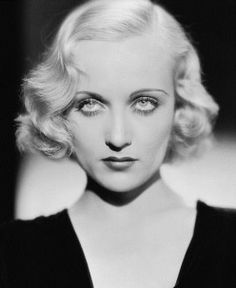 Carol Lombard 1930 curly hair style - WHAT IS OLD CAN BE NEW HAIR STYLE