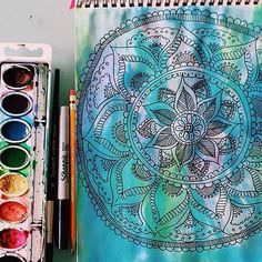 Discover and share the most beautiful images from around the world Watercolor And Sharpie, Watercolor Art, Hippie Vibes, Most Beautiful Images, Beautiful Things, Creative Skills, Line Design, Art Inspo, New Art
