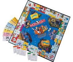 Scooby Doo Monopoly Game Board