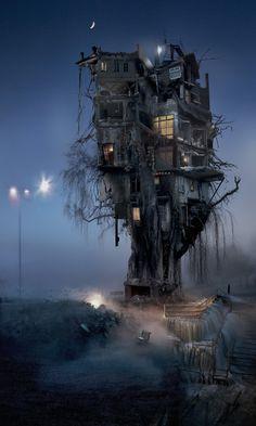 Barbara Nati, Unpredictable Trees  #fotografia #Photography #arte contemporanea #conterporaryart #arte #art #hometree