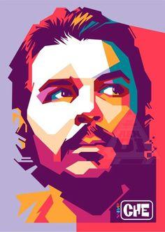 Che Guevara in WPAP  For order this art  Email : Endienumber4@gmail.com Line : endienumber4  WA : 085-745-611-566