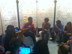 Pepsico inspiration area @ sxsw with ALexis Ohanian, co-founder of Reddit.com