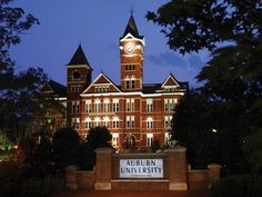 #6 Samford Hall. After Old Main, the original classroom building of EAMC, burned down in 1887, workers constructed the brick and mortar Samford Hall. It is Auburn's most recognizable landmark and remains one of the most photographed buildings on campus.