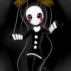 The marionette puppet on pinterest the puppet puppets and fnaf