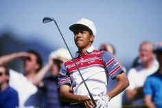 Remembering Tiger Woods' 1992 PGA Tour debut at the Los Angeles Open at Riviera Baseball Scores, Pro Baseball, Baseball Equipment, Baseball Caps, Tiger Woods, Pga Tour Players, Nike Poster, Mr Men, Sport Icon