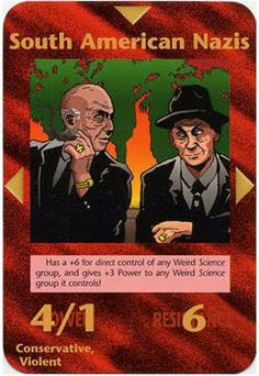 Here is a list of ALL Illuminati Cards. LIST KEY: Frequency: C - Common U - Uncommon R - Rare I - Illuminati S - Special Coloring: Jeff - Jeff Koke Rick - Rick Martin Derek - Derek… Illuminati Conspiracy, Conspiracy Theories, The Tribulation, Morning Cartoon, Deck Of Cards, Card Deck, Jackson, Matrix, Stairs