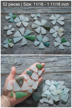 Your place to buy and sell all things handmade Green Turquoise, Blue Green, Sea Glass Necklace, How To Make Earrings, Triangles, Salt, Waves, Pendant, Beach